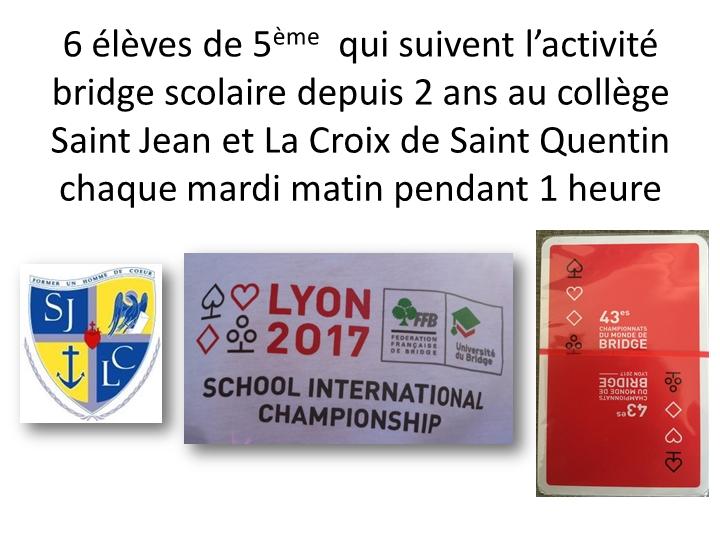 Championnat international bridge scolaire lyon comite de picardie anne legrand page02