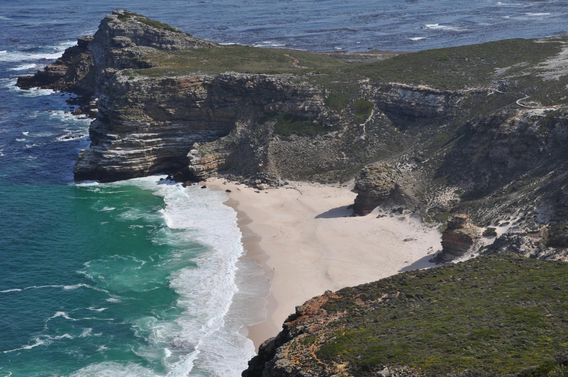 Plage au Cap de Bonne-Espérance