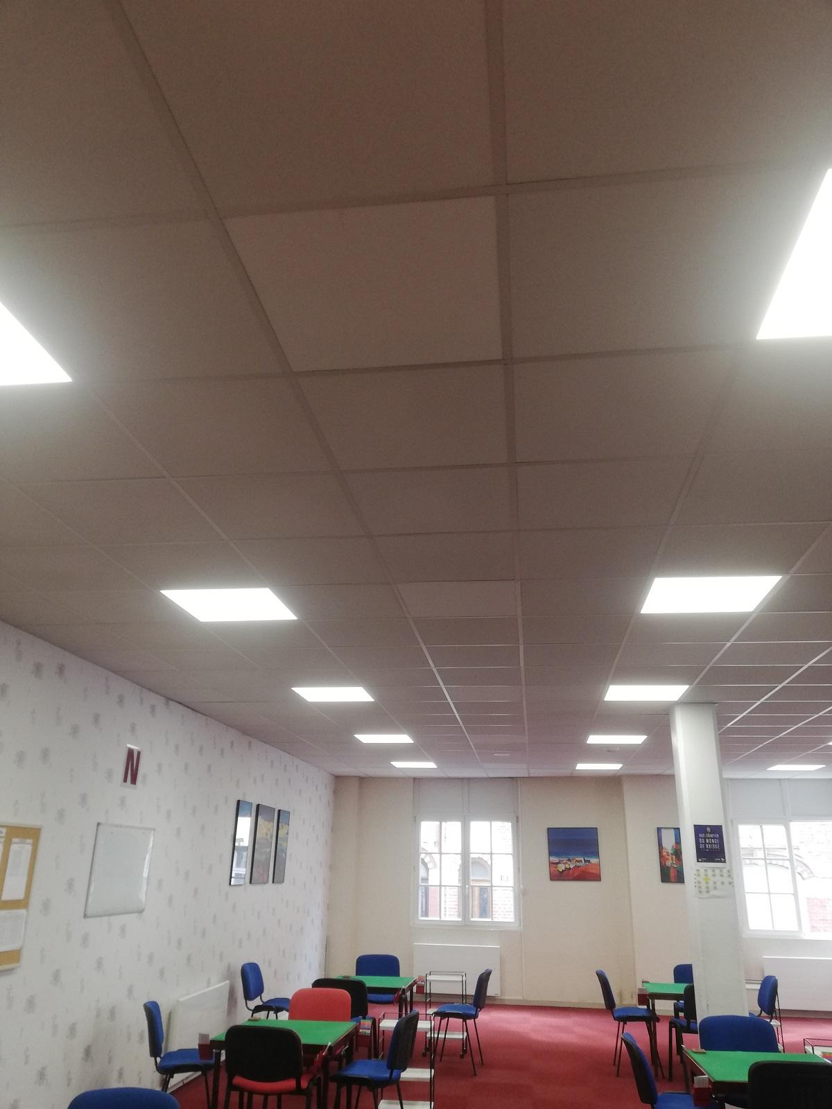 Eclairage et radiateurs ont aussi été changés !